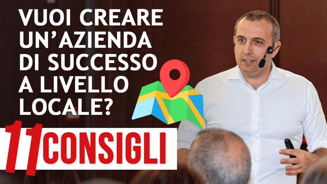 come creare un'azienda di successo a livello locale